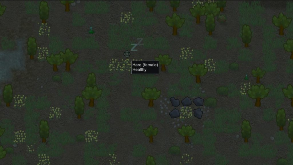 RimWorld Hunting Tips - finding animals at night