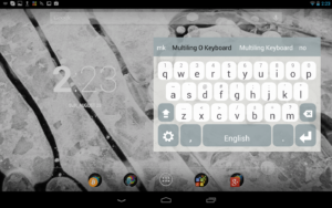 Multiling O Keyboard