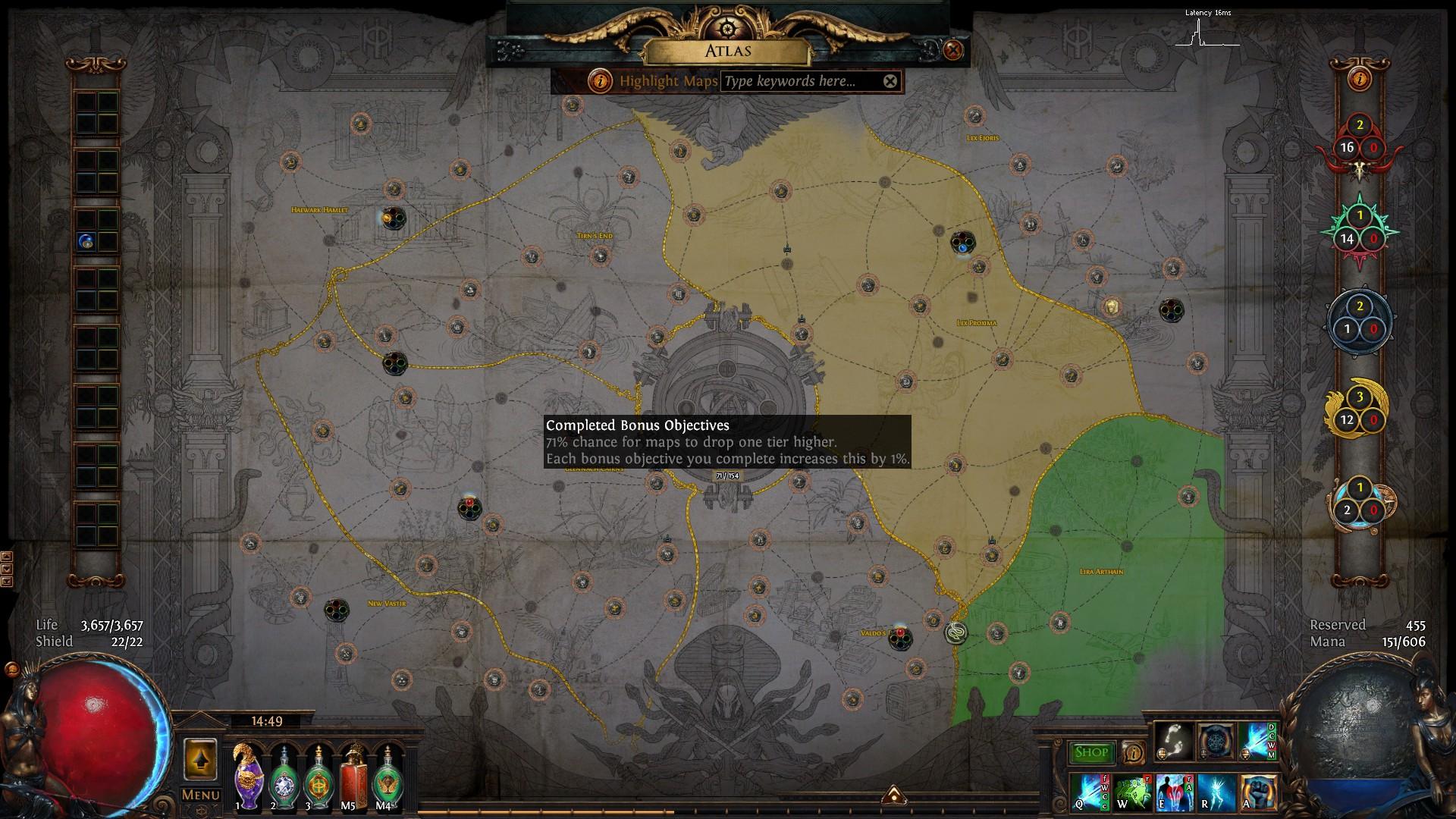 Tips For Map Farming And Atlas Progress Poe Ritual 3 13 Paradite