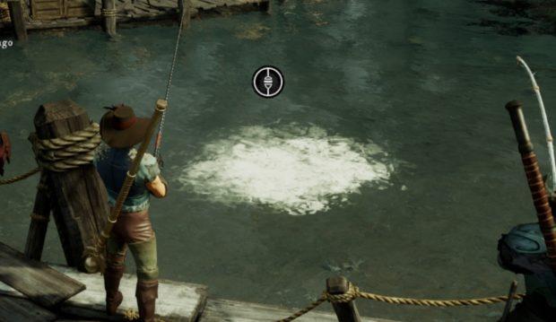New World Fishing white whirlwind